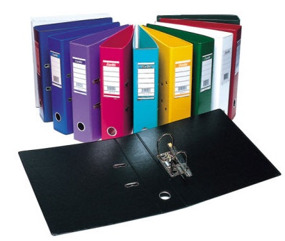 Colored Box Files