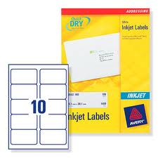 Office Labels & Pricing