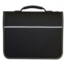 Mapac Quartz Art Portfolio Case A1 Fabric Black [1592]
