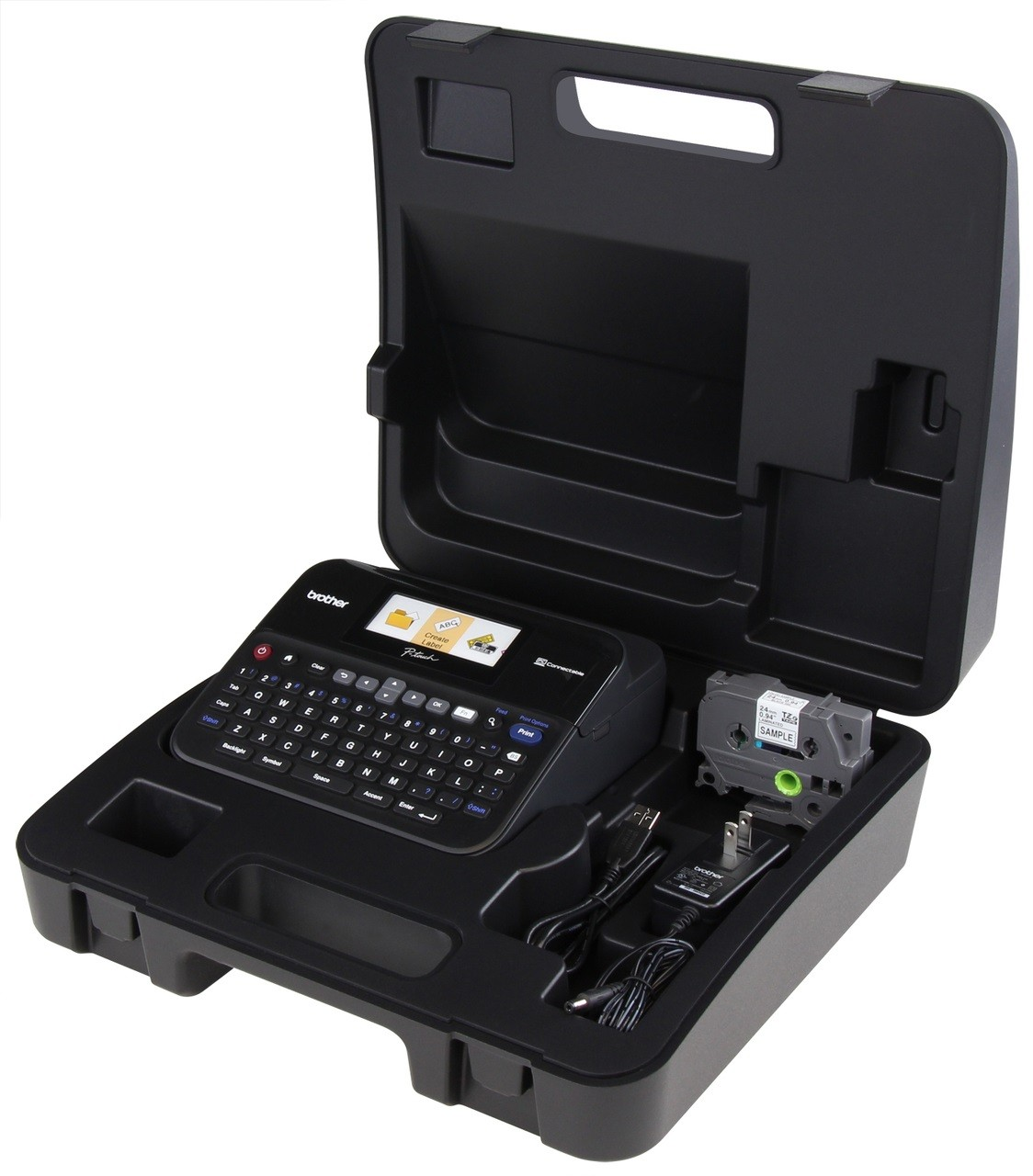Brother PT-D600VP P-touch Label Maker - Arabic, Persian and English