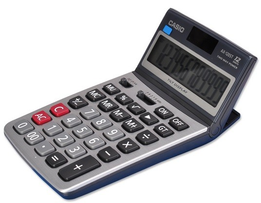 Casio AX-120ST, 12 Digits Calculator   Dubai   ABu Dhabi   UAE