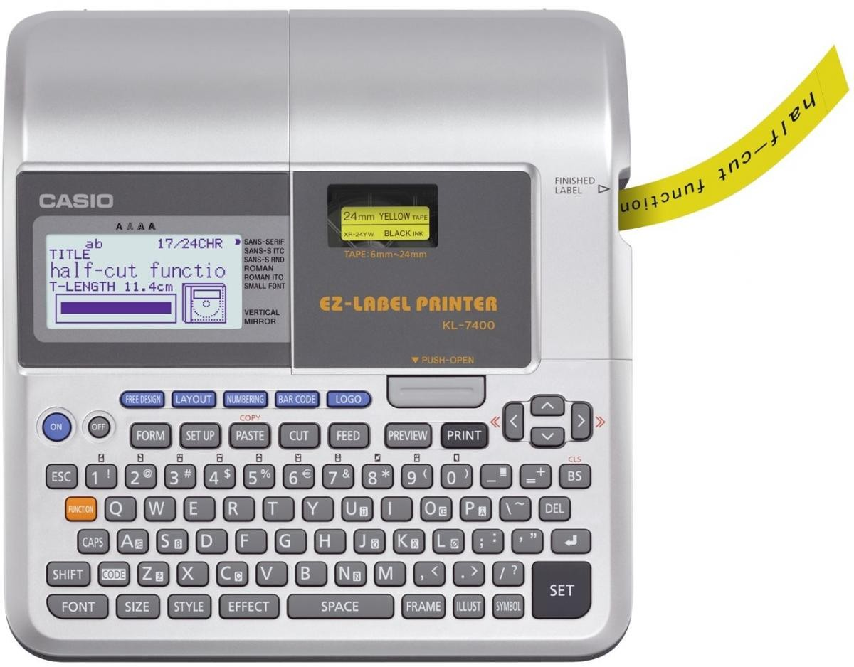 More Views. Casio KL-7400 Label Printer
