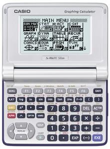 Casio Fx 9860g Slim Graphing Calculator