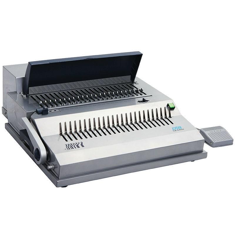 DSB CB-240e Electric Comb Binding Machine