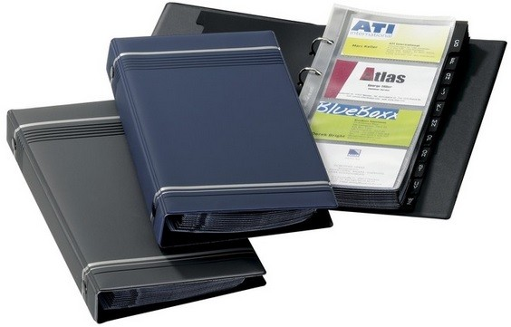 Durable 2385 Visifix Business Card Album 200 Cards