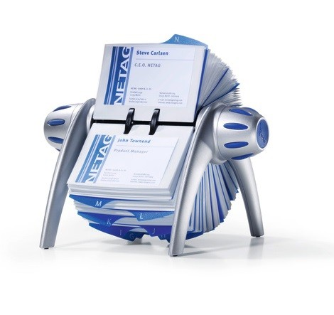 Durable 2417 01 rotary business card holder stationery dubai uae durable visifix flip 2417 rotary business card holder reheart Gallery