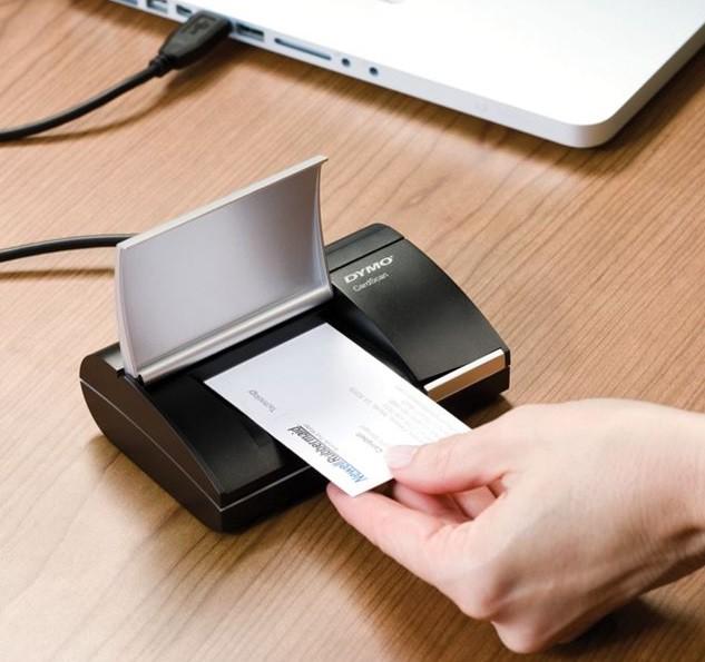 Dymo Cardscan Personal V9 Business Card Scanner