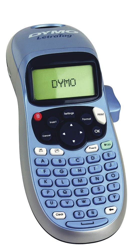dymo letratag lt 100h label maker dymo label makers. Black Bedroom Furniture Sets. Home Design Ideas