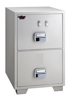 Eagle SF 750 2TKX 2 Drawer Fire Resistant Filing Cabinet 2 Key Lock