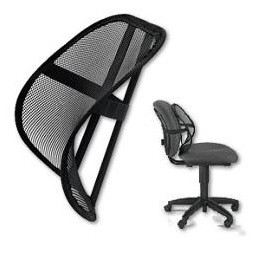 ... Fellowes 8036501 Office Suites Mesh Back Support
