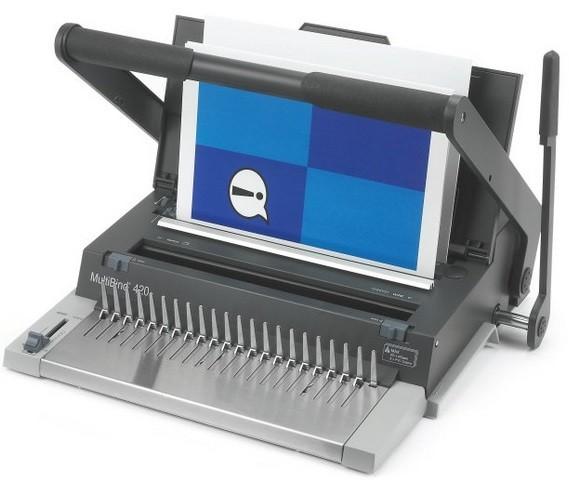 GBC MultiBind 420 Manual Multi Functional Binding Machine
