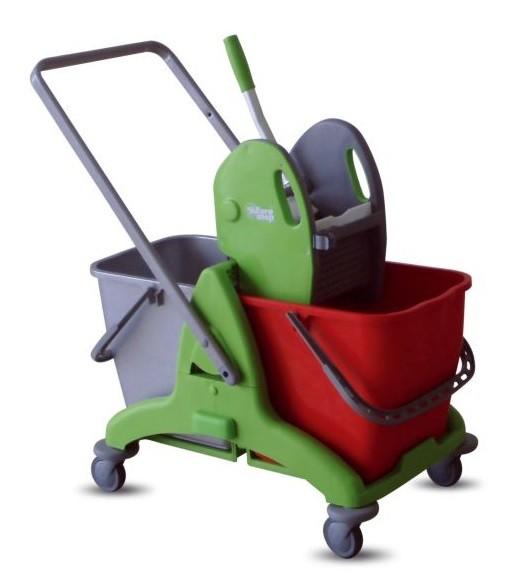 Ipc Tris 50 Double Mop Bucket 2 X 25l Mop Buckets