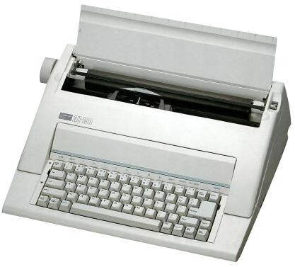 Nakajima ax-150 electronic typewriter (3 years warranty).