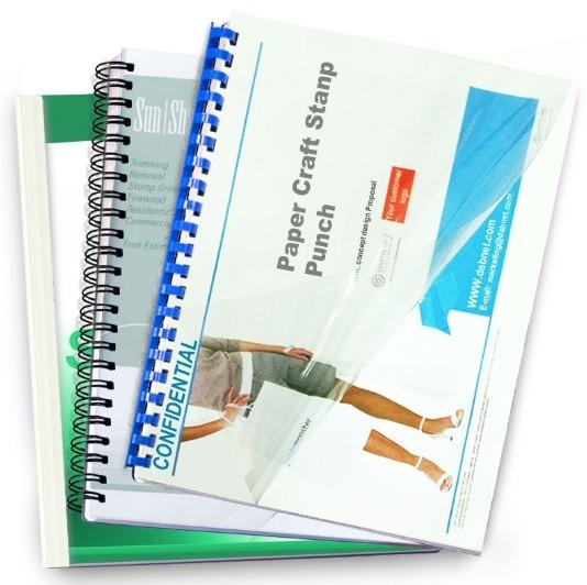 Pvc A4 Binding Sheet Transparent Front Cover Dubai Abu