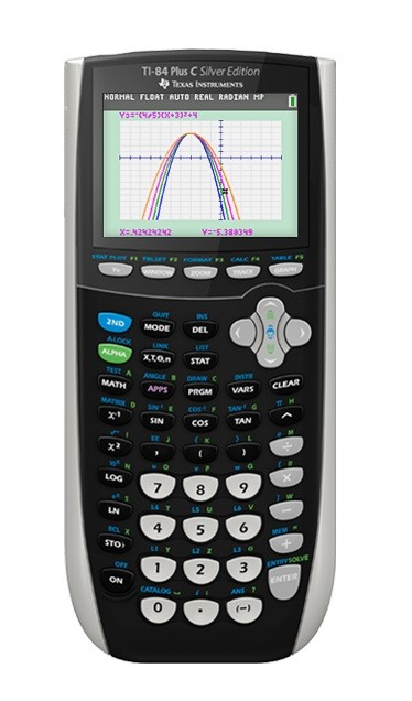 More Views Texas Instruments TI 84 Plus C Silver Edition Graphing Calculator