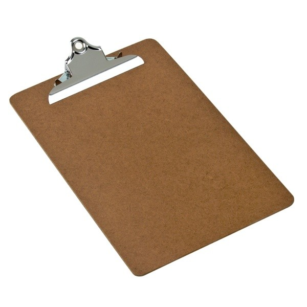 Masonite Clipboard Metal Lever A4 Size