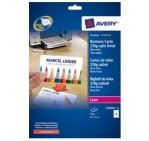 Avery C32026-10 Double Sided Business Cards Satin-Finish, 270g [PK/100]