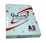 Galaxy Photocopy Paper, 80gsm, A3, [500 Sh/Ream]