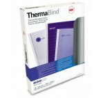 GBC ThermaBind Thermal Binding Covers, 3mm, White [Box of 100]