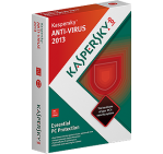 Kaspersky Anti-Virus 2013, 1 PC / 1 Year, Product Key