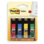 Post-it® Flags 12x43mm, 4 Colors, 35Sh/Color, [Ref: 683-4]