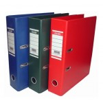 "Bantex PVC Colored Box File Broad 3"" Spine Foolscap"