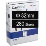 Plastic Binding Combs PK/50 32mm (280 Sheets) Black