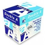 Double A Premium Copy Paper, White, A4 , 80 gsm, 5 Reams/Box