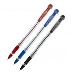 Cello Fine Grip Ball Pen, Red Color, 12/Box