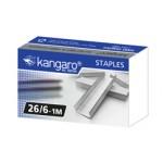 Kangaro Staples 26/6 (1M), PK/1000