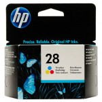 HP 28 Tri Colour Inkjet Print Cartridge (C87278E)