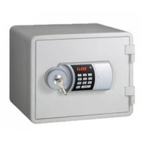 Eagle YESM-020K (WH) Fire Resistant Safe, Digital & Key Lock, White