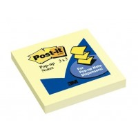 "Post-it® R330 Pop-up Notes 3""X3"" Yellow 100 Sheets"