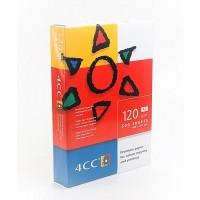 4CC Premium Paper, White, A3, 120 gsm, PK/500