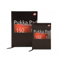 Pukka City Case Bound Pad, 80gsm, Ruled, Hard Backed Casebound, A4, 192 pages