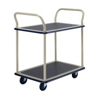 Prestar NB-104 Platform Trolley, Double Deck Dual Handle 150kg | Japan