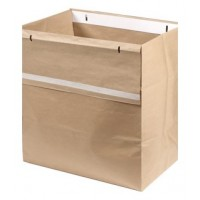 Rexel 115L Waste Sacks, Recyclable Paper, for RLS32, RLX20, RLM11, RLSM9, [Pack of 50]