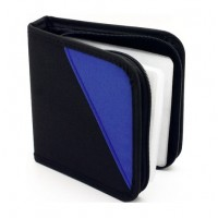 Aidata CD24N CD Wallet , Holds up to 24 CDs
