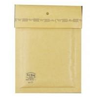 FIS Brown Bubble Envelopes, No.12 (120mm X 215mm) PK/12