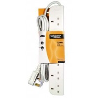 Belkin E-Series 6 Way Surge Strip - 3m
