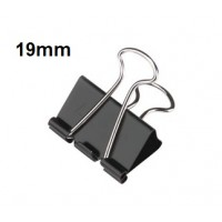 Binder Clips, 19mm (Small) 50 sheets Capacity Pack/12