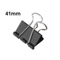 Binder Clips, 41mm 100 sheets Capacity Pack/12