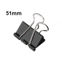 Binder Clips, 51mm, 12pcs/Pack
