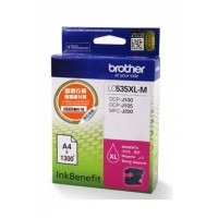Brother LC535XL-M Magenta Ink Cartridge (1300 Pages)