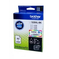 Brother LC539XL-BK Black Ink Cartridge (2400 Pages)