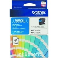 Brother LC565XL-C Cyan Ink Cartridge (1200 Pages)