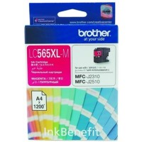 Brother LC565XL-M Magenta Ink Cartridge (1200 Pages)