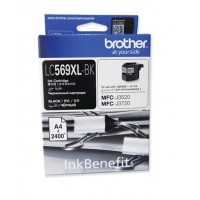 Brother LC569XL-BK Black Ink Cartridge (2400 Pages)