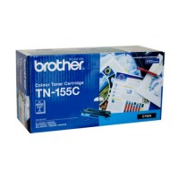 Brother TN-155C Cyan Toner Cartridge, High Yield