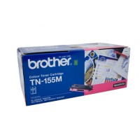 Brother TN-155M Magenta Toner Cartridge,  High Yield